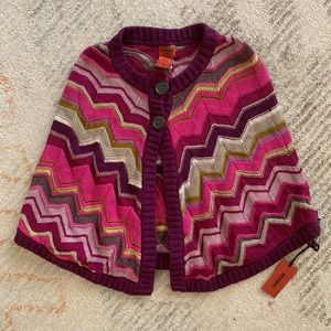Sweaters - BNWT cute girls poncho